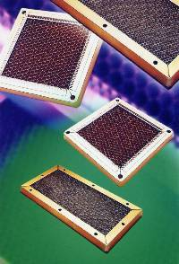 Shielding vents provide effective shielding against electromagnetic and radio frequency interference EMI/RFI).