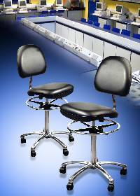 seating products designed for use in cleanroom and static control applications